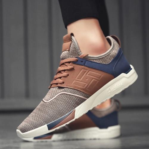 CityFS Rhombus Lightweight Breathable Sneakers
