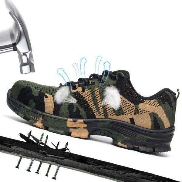 CityFS WorkSafe X8 Breathable Steel Toe Sneaker
